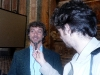 Intervista ad Alberto Angela e al Rettore Massimo Marrelli