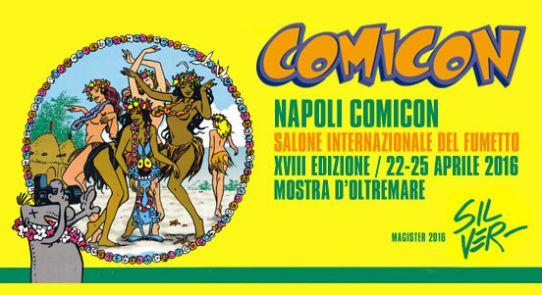 Dal 22 al 25 aprile alla Mostra d'oltremare torna il Napolil Comicon, la grande fiera dedicata al fumetto e all'animazione. Il tema principale di quest'anno sarà il rapporto tra Fumetto e [...]