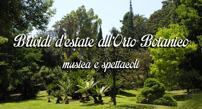 Tempo d'estate, tempo di spettacoli all'aperto. E quale posto migliore se non l'Orto Botanico di Napoli che finoal 7 agosto e poi dal 2 settembre al 2 ottobre, per tutti [...]