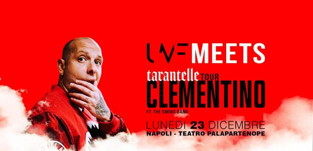 """Clementino in concerto a Napoli. Il23 dicembre Clementino terminerà il suo tour di successo""""Tarantelle Tour""""nella sua città, Napoli, alTeatro Palapartenope. Tanti gli ospiti già annunciati che celebreranno insieme al rapper la [...]"""