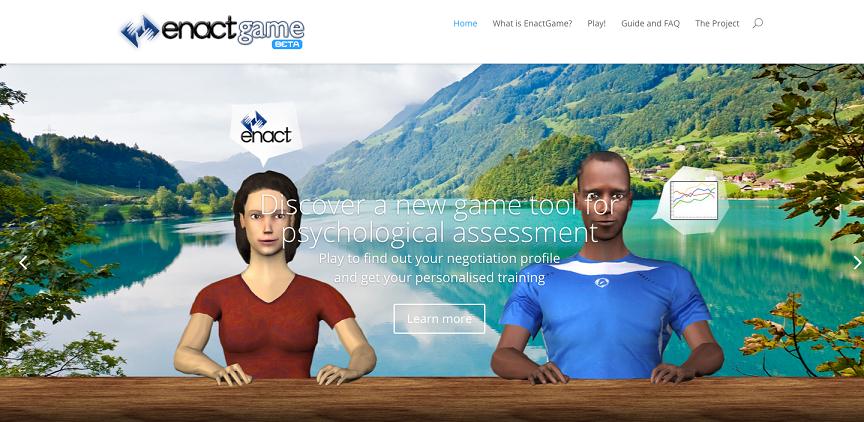 """Basata su un innovativo gioco online utile a migliorare le capacità di negoziazione di studenti, professionisti e atleti, la piattaforma """"ENACT"""" è stata selezionata dall'""""Agenzia europea per l'istruzione, gli audiovisivi [...]"""