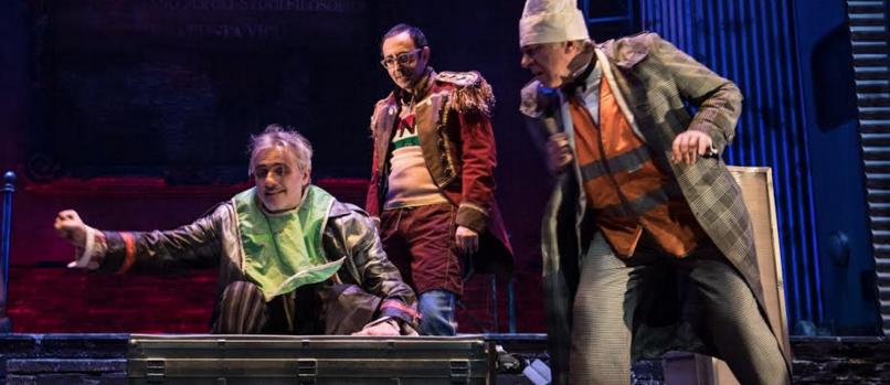 Debutta giovedì 23 marzo – con repliche fino a domenica 2 aprile – al Teatro San Ferdinando di Napoli il nuovo spettacolo scritto, diretto e interpretato daRuggeroCappuccio,Circus Don Chisciotte, prodotto [...]