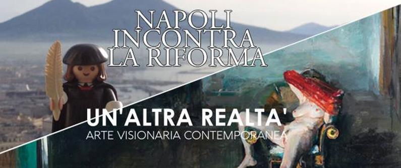 """La mostra """"Un'Altra Realtà. Arte visionaria contemporanea"""" si terrà dal giorno 14 settembre al 14 ottobre 2017, nelle Sale espositive di Castel Dell'Ovo, a Napoli.  L'esposizione propone un vero e [...]"""