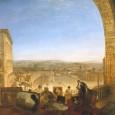 """Roma, Chiostro del Bramante e un gigante dell'800 artistico. """"Turner, il più abile paesaggista ora vivente[…] […].Sono il trionfo della sapienza, dell'artista e della potenza del pennello sulla sterilità del soggetto""""; [...]"""