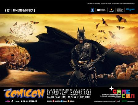Dal 29 aprile al 1 maggio si terrà il salone internazionale del fumetto di Napoli: il Comicon. Giunta ormai alla sua XIII edizione, la mostra dedicata alla nona arte è [...]