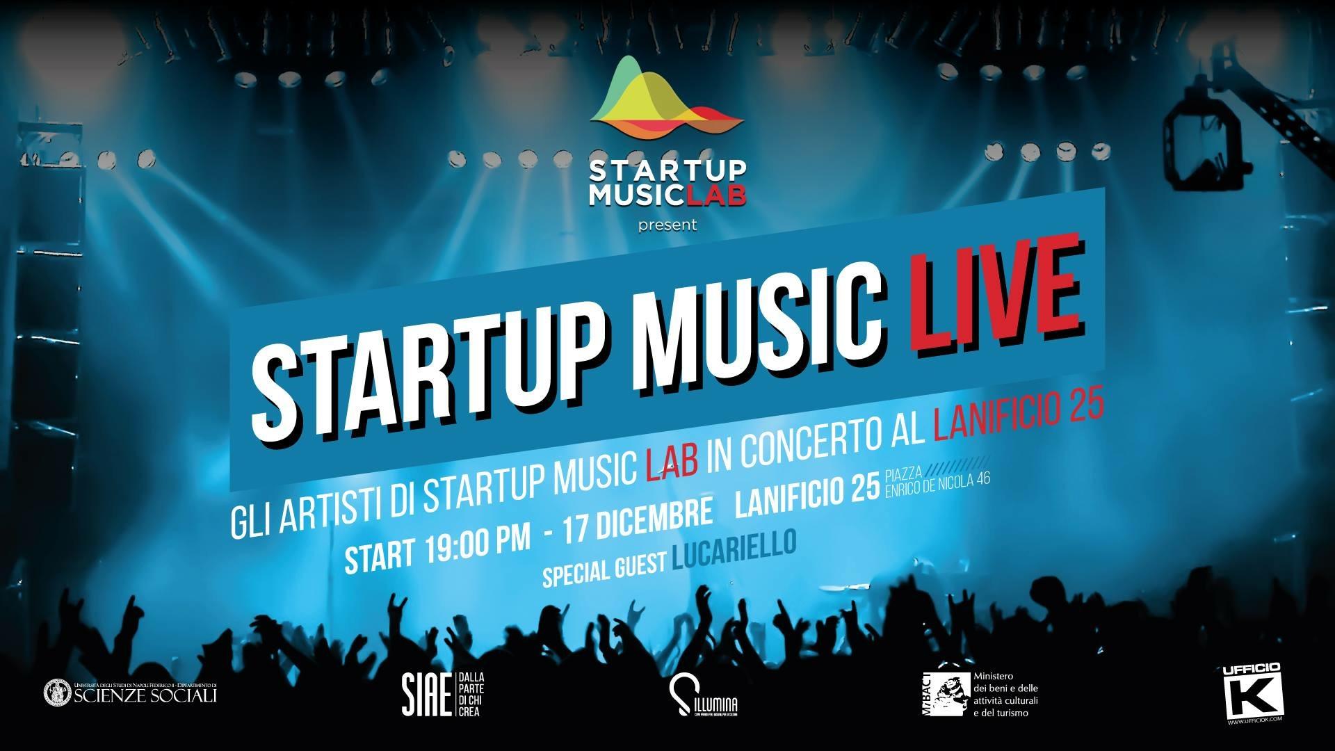 Domenica 17 dicembre, alle ore 19, il Lanificio 25 ospiterà lo StartUp Music Live, l'evento conclusivo dello StartUp Music Lab, il corso di perfezionamento coordinato dal docente di comunicazione e [...]